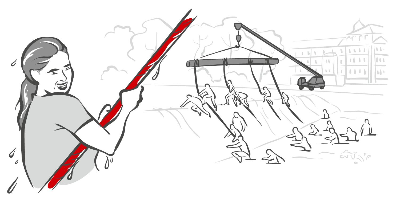 Hindernis - Gegenstrom - Red Castle Run